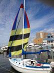 1976 Venture 23 sailboat