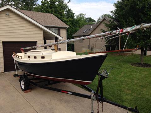 Venture of Newport 23, 1977 sailboat