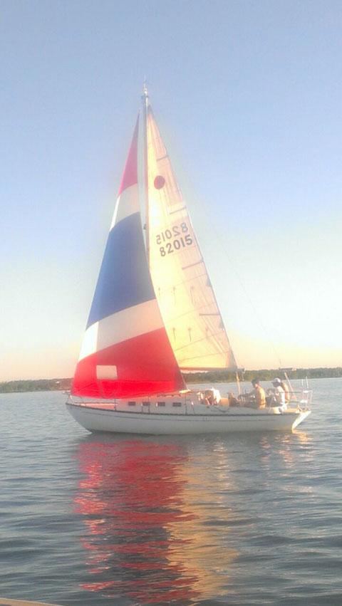 Victoria 26, 1982 sailboat
