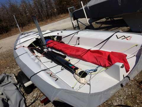 VX One built by Bennett, 2013 sailboat