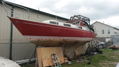 Warrior 35, 1978 sailboat