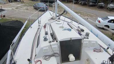 Wavelength 24, 1984 sailboat