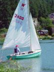 1970 Wayfarer sailboat