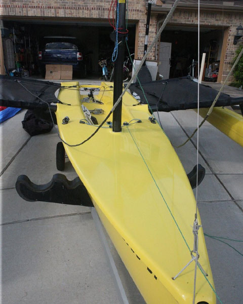 Weta folding trimaran, 2010 sailboat