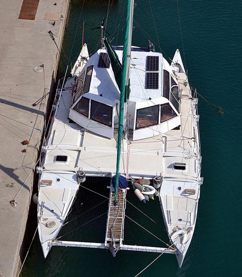 Wharram Pahi 42 catamaran, 1999, sailboat