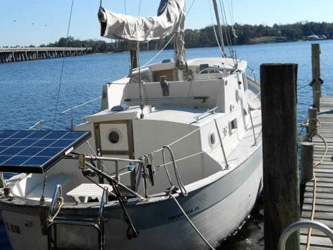 Willard Vega, 1973 sailboat