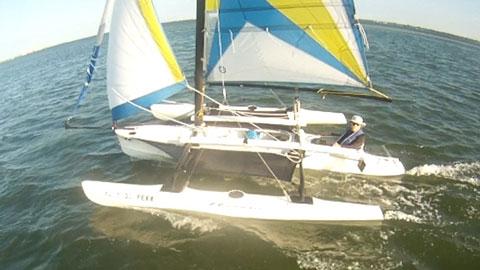 Windrider Wr17 2005 Tampa Bay Florida Sailboat For