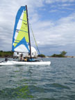 2005 Windrider 17 sailboat