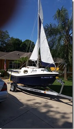 West Wight Potter 15, 2005 sailboat