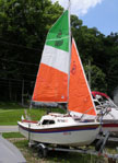 1989 West Wight Potter 15 sailboat