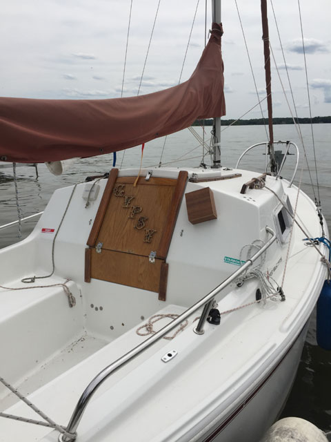 West Wight Potter 19, 2003 sailboat