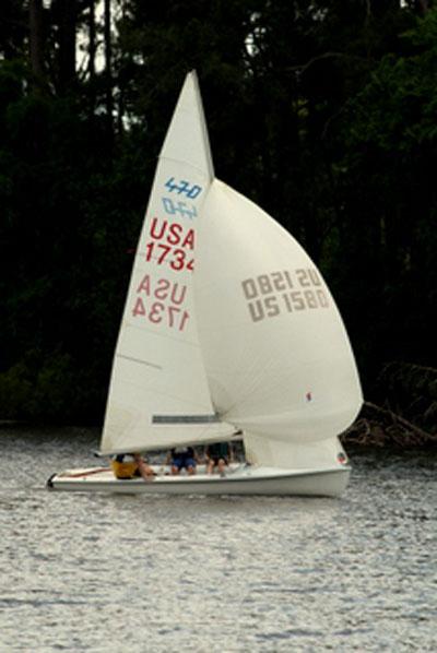 International 470, 1982 sailboat