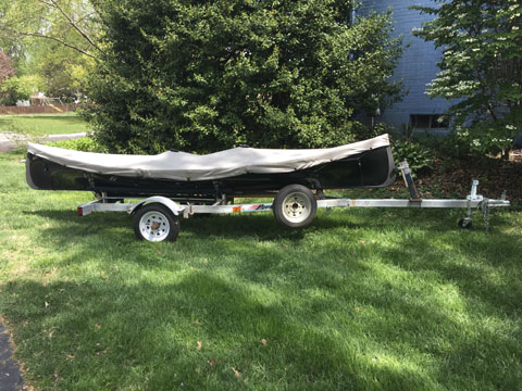 Adarondack Guide Boat sailboat