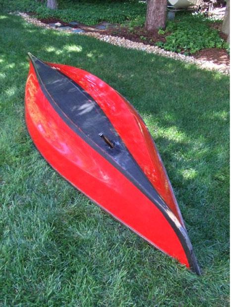 Adirondack Guideboat Sailing Canoe, 2013 sailboat