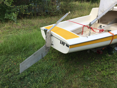 Advance Stowaway 16' and trailer, 1980 sailboat
