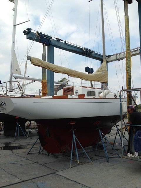 Alberg 30, 1974 sailboat