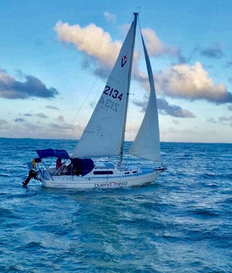 Albin Vega 27, 1975 sailboat