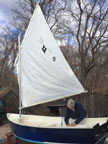 B&B YACHT DESIGN AMANDA SAILING DINGY kit sailboat