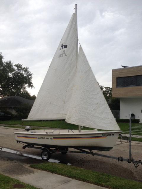 American 18, 2003 sailboat