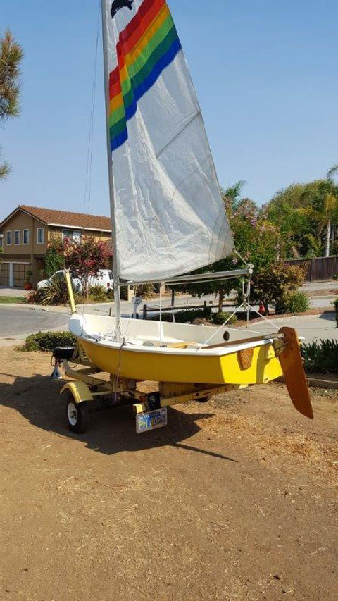 AMF Puffer, 1975 sailboat