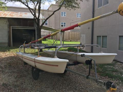 Aqua Cat 14', 1972 sailboat