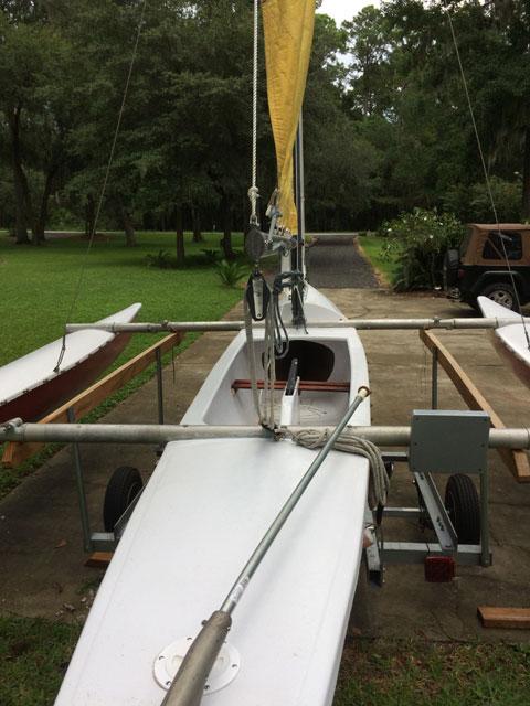 Aquadyne Sailbird trimaran, 1970s sailboat