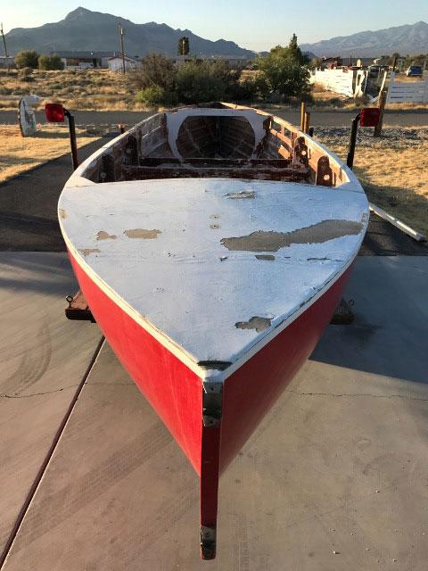 Phil Bolger Cruising Canoe, 1987 sailboat