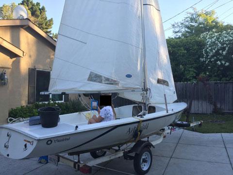 Wellcraft Buccaneer 18', 1983 sailboat