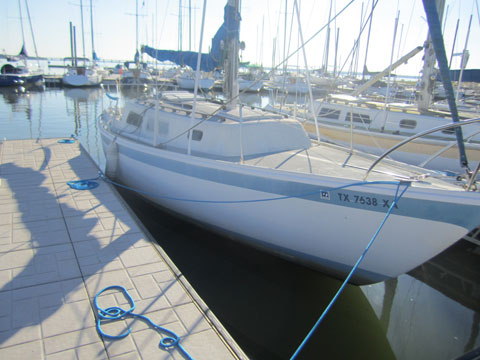 Cal 29, 1970 sailboat