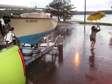 Cape Dory Typhoon Weekender, 18.5 feet, 1985 sailboat