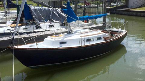 Cape Dory 25, 1974 sailboat