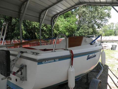 Capri 16 sailboat