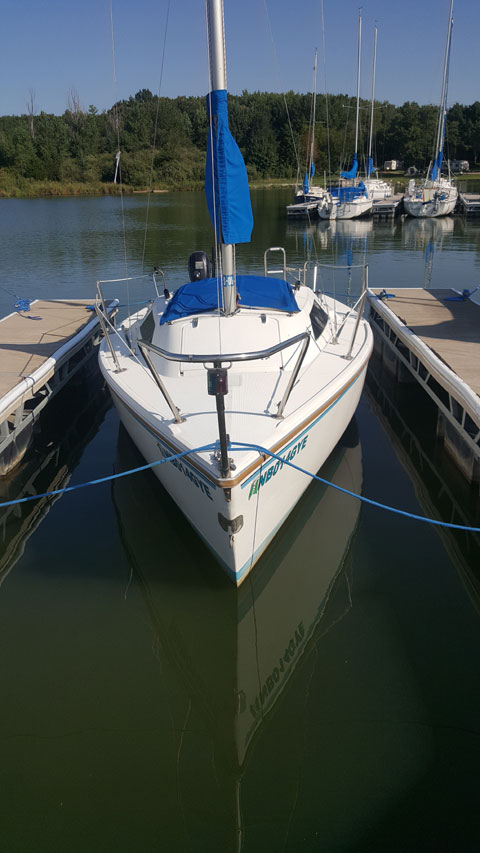 Capri 18ft, 1986 sailboat