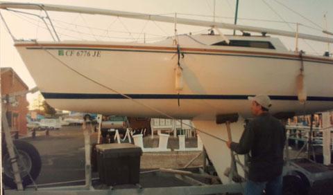 Catalina Capri 22, 1985 sailboat