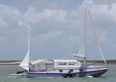 Caprice, 25 ft., 2001 sailboat