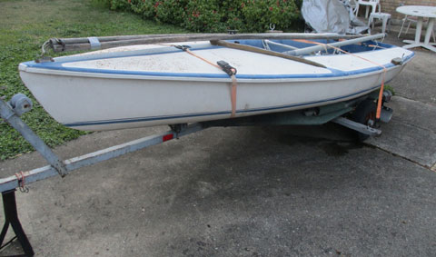 Capri Cyclone, 1970s sailboat