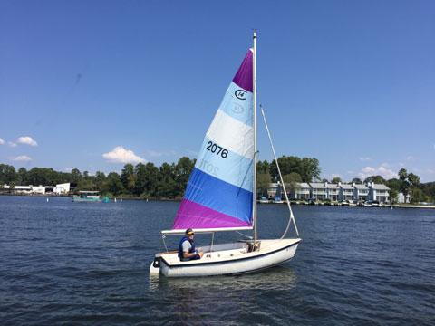 Catalina 14.2, 1987 sailboat
