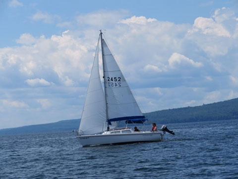 Catalina 22 swing keel, 1984 sailboat