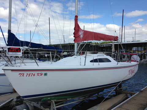 Catalina 22 Sport, 2005 sailboat