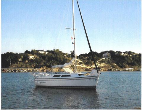 Catalina 250, 2005 sailboat