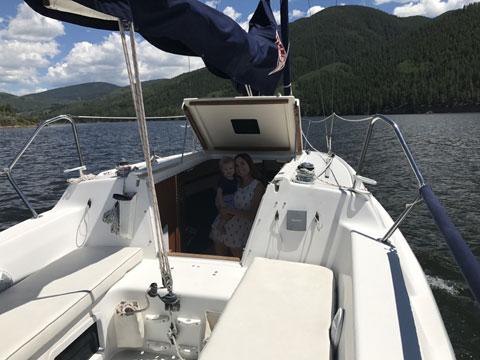 Catalina 250 MK11, 2005 sailboat