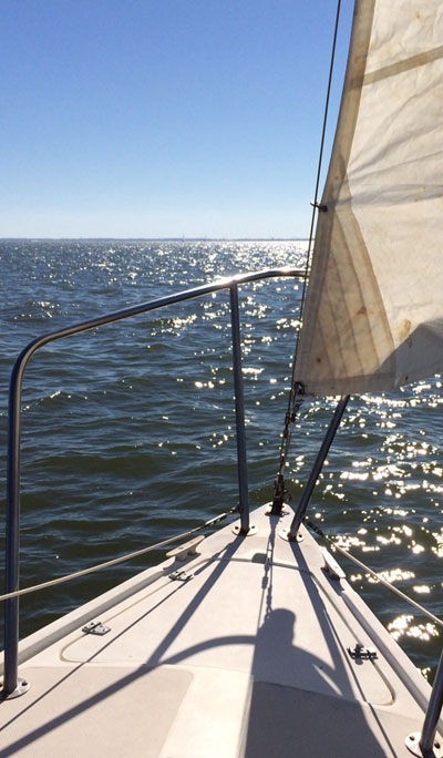 Catalina 25 fin keel, 1984 sailboat