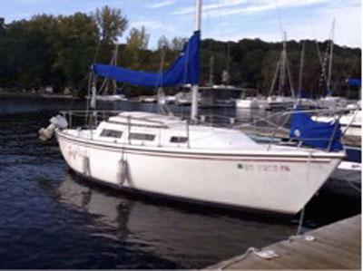Catalina 25, 1985 sailboat