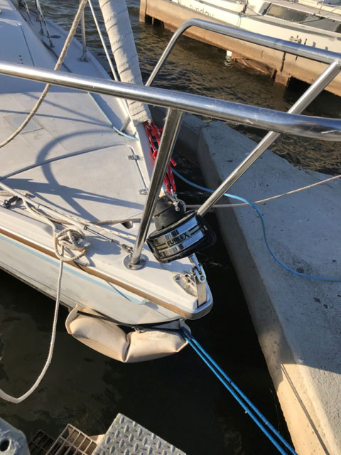 Catalina 25 with trailer, 1986 sailboat