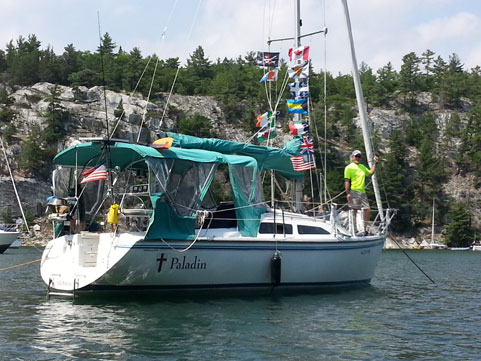 Catalina 270 LE, 1997 sailboat