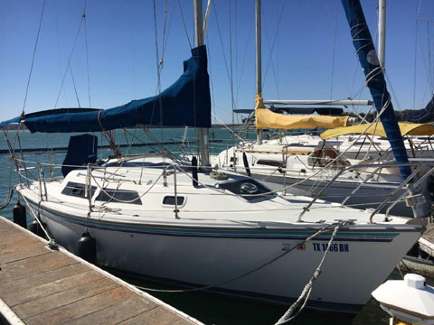 Catalina 270, 1993 sailboat