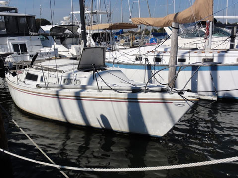 Catalina 27 tall rig, 1971, Essex, Maryland, sailboat for