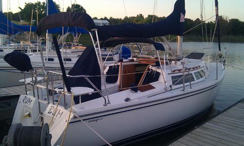 Catalina 28, 1992 sailboat
