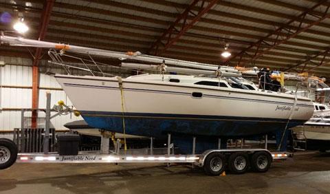 Catalina 28 MKII, 2009 sailboat