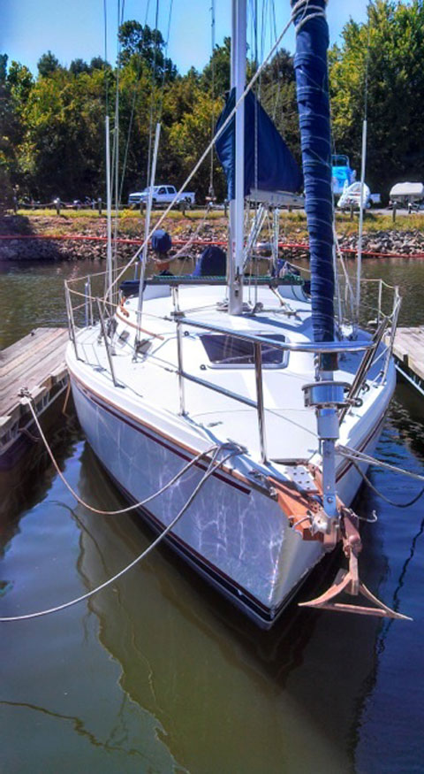 Catalina 30 MKII Tall Rig, 1990 sailboat